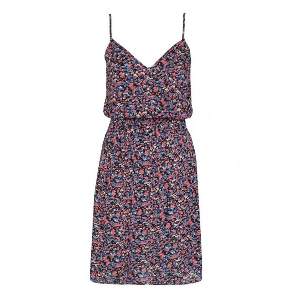 FLORAL RAYON CAMI DRESS