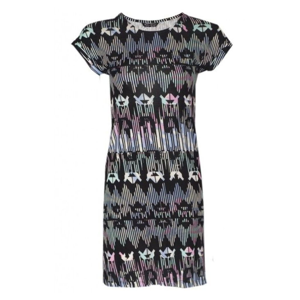 SOFT AZTEC TUNIC DRESS