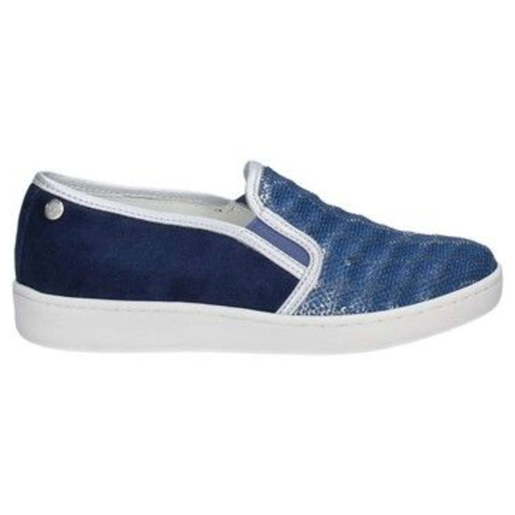 Keys  5051 Slip-on Women Blue  women's Slip-ons (Shoes) in Blue