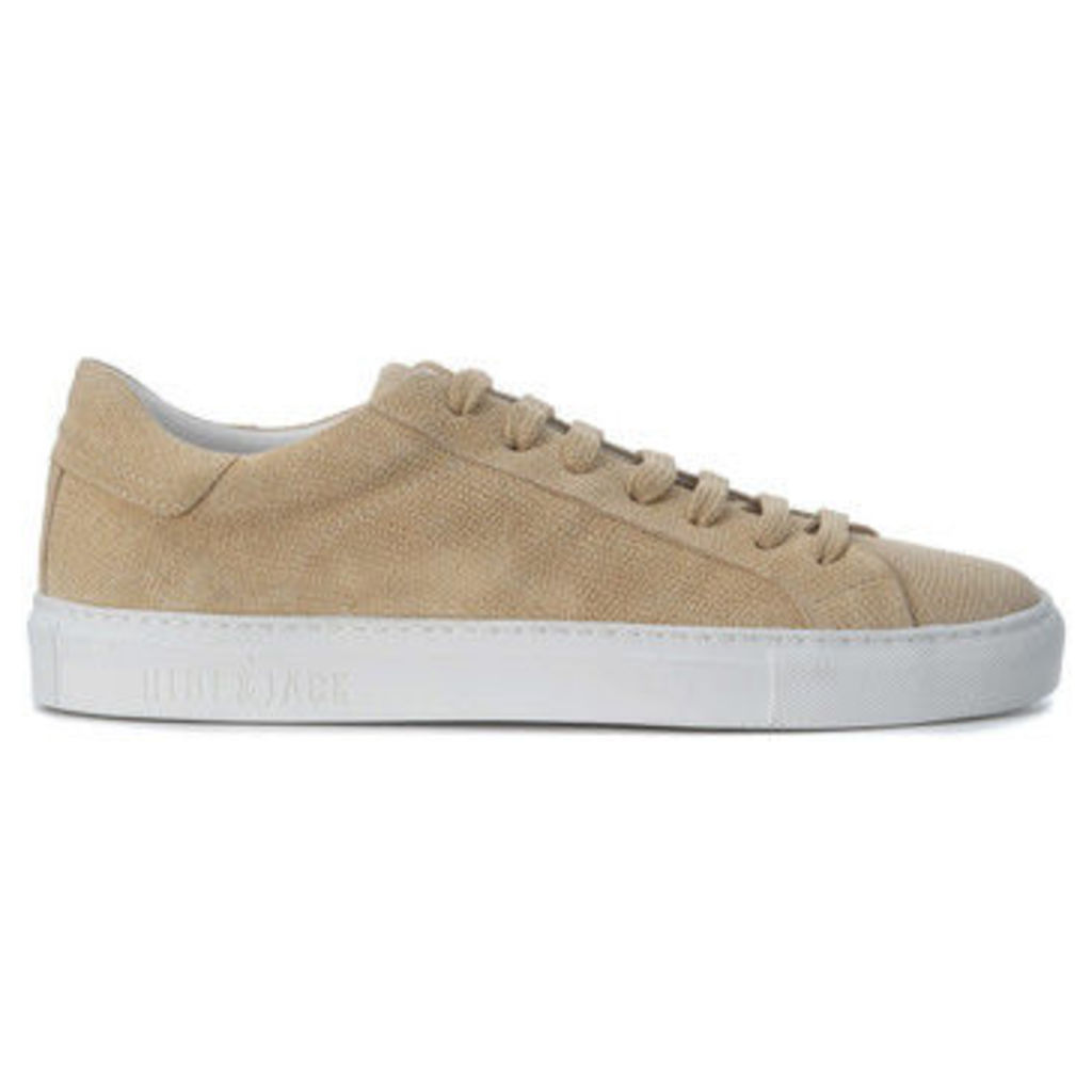 Hide And Jack  Sneaker Hide amp;Jack Low Top White Desert  women's Shoes (Trainers) in BEIGE