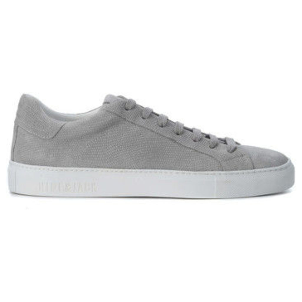 Hide And Jack  Sneaker Hide amp;Jack Low Top Stone  women's Shoes (Trainers) in Grey
