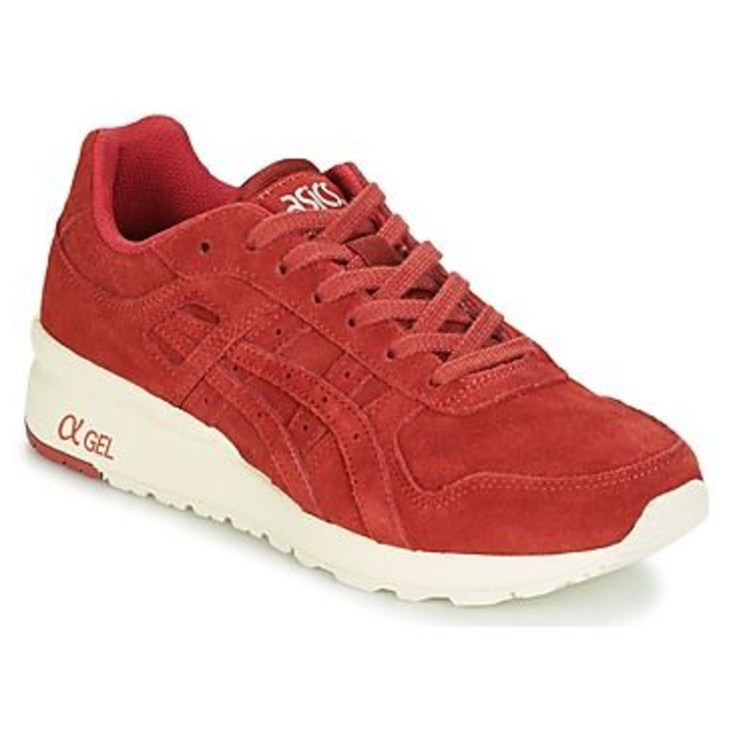 Asics  GT-II  women's Shoes (Trainers) in red