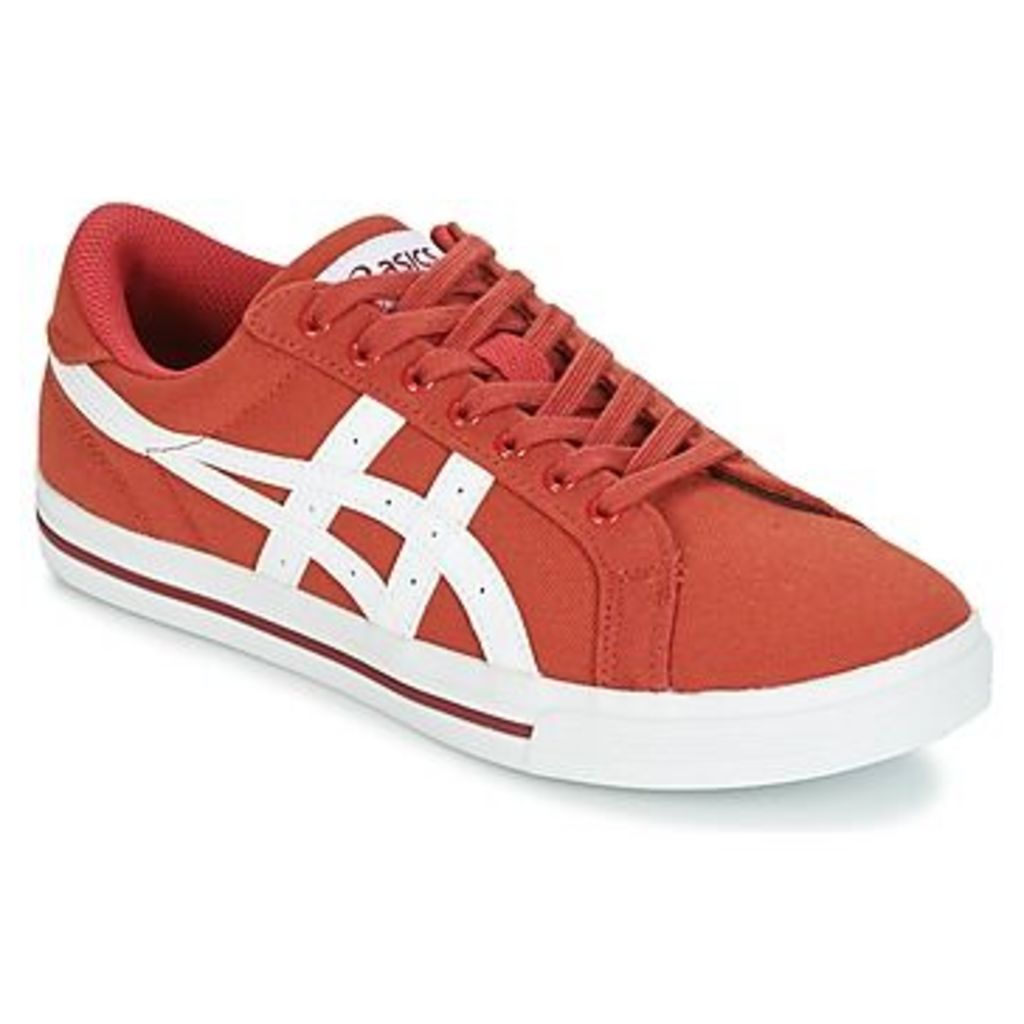 Asics  CLASSIC TEMPO  women's Shoes (Trainers) in red