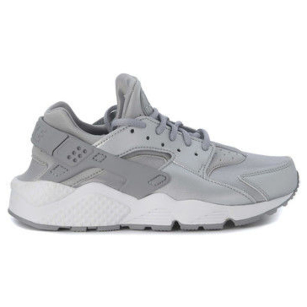 Nike  Sneaker  Air Huarache argento  women's Shoes (Trainers) in Silver