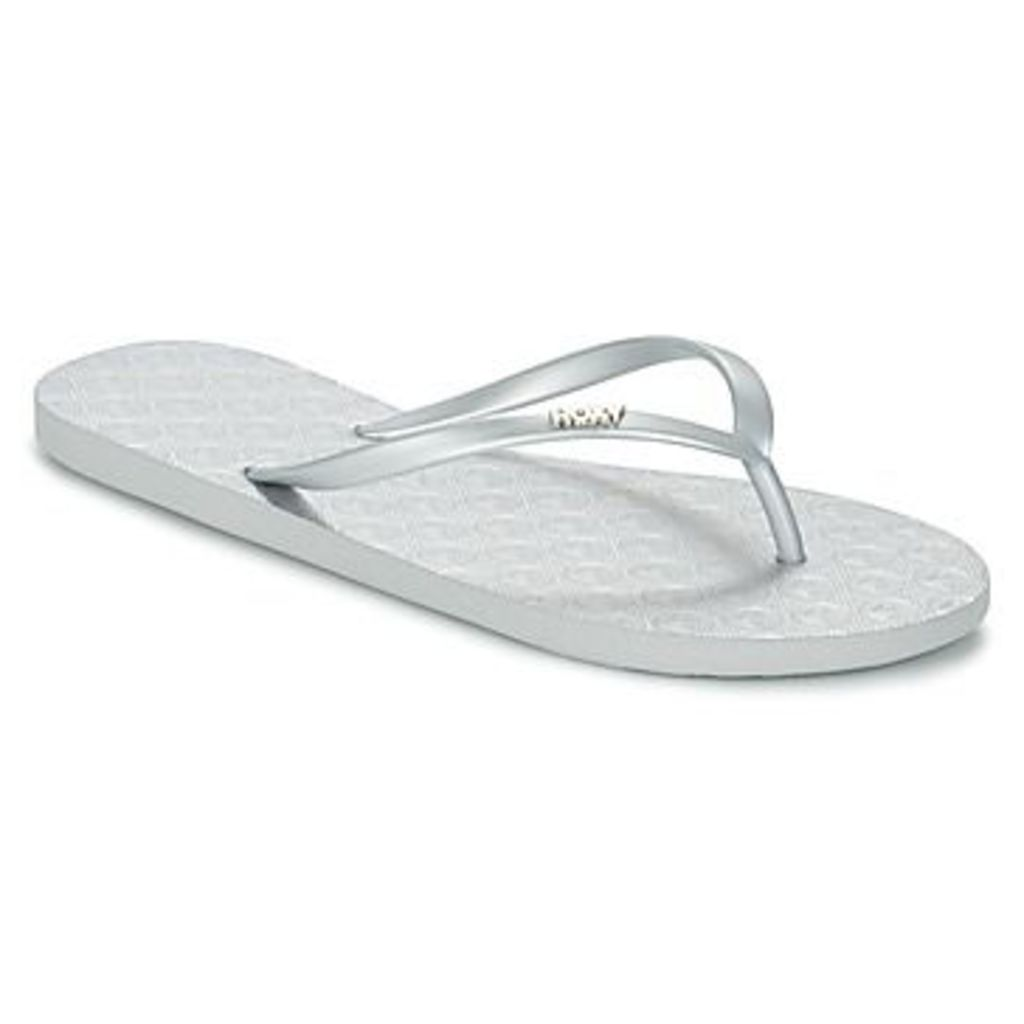 Roxy  VIVA III J SNDL SIL  women's Flip flops / Sandals (Shoes) in Silver
