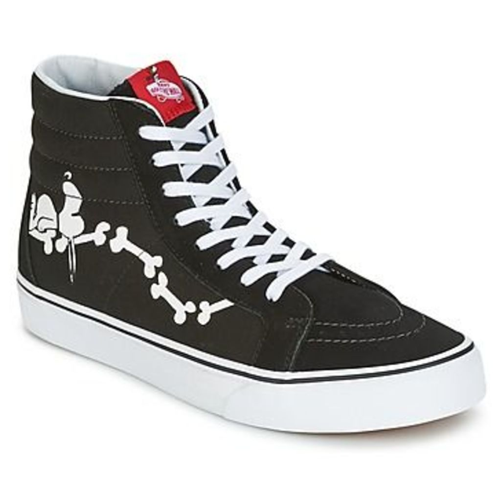 Vans  SK8-HI REISSUE SNOOPY  women's Shoes (High-top Trainers) in black
