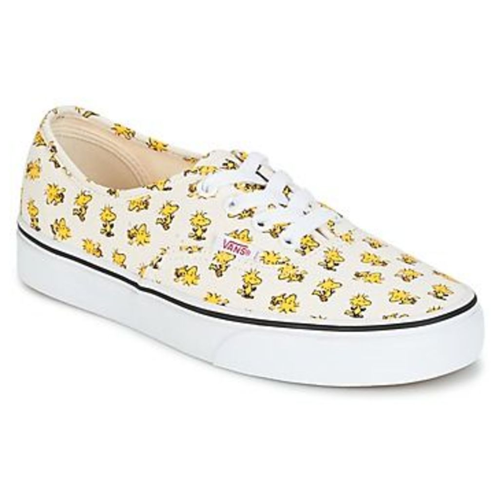 Vans  AUTHENTIC SNOOPY  women's Shoes (Trainers) in white