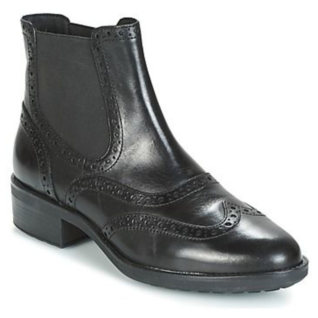 Geox  D ETTIENE  women's Mid Boots in Black