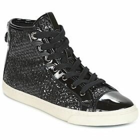 Geox  D NEW CLUB  women's Shoes (High-top Trainers) in Black