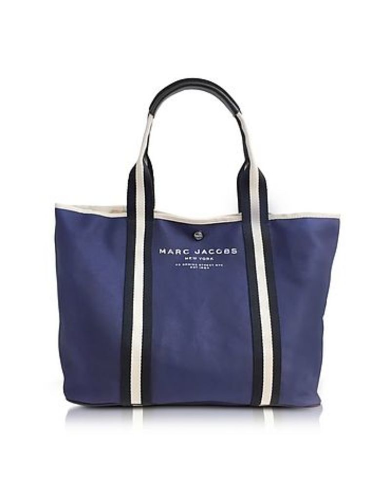 Marc Jacobs - Midnight Blue Canvas EW Tote