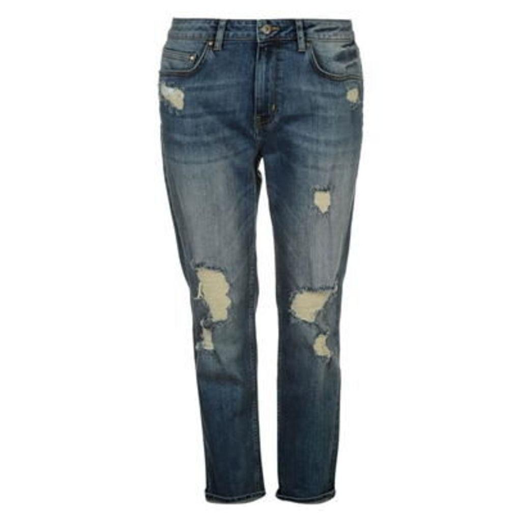 Firetrap Blackseal Boyfriend Jeans