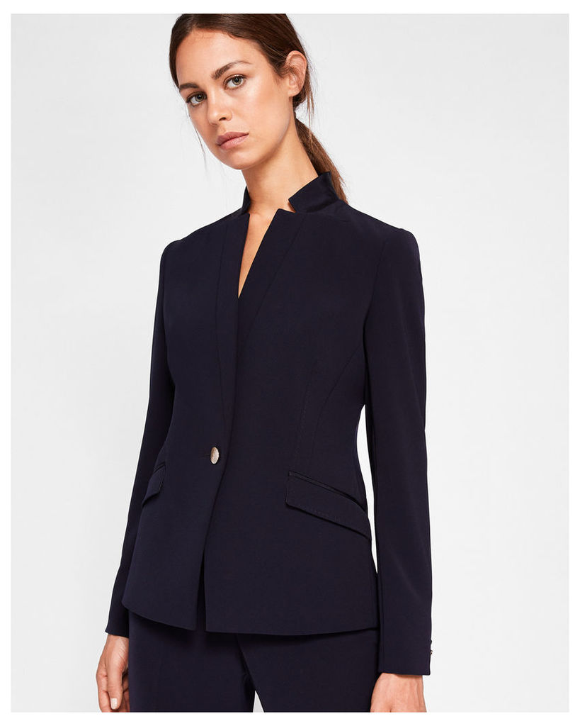 Ted Baker Ottoman suit jacket Navy