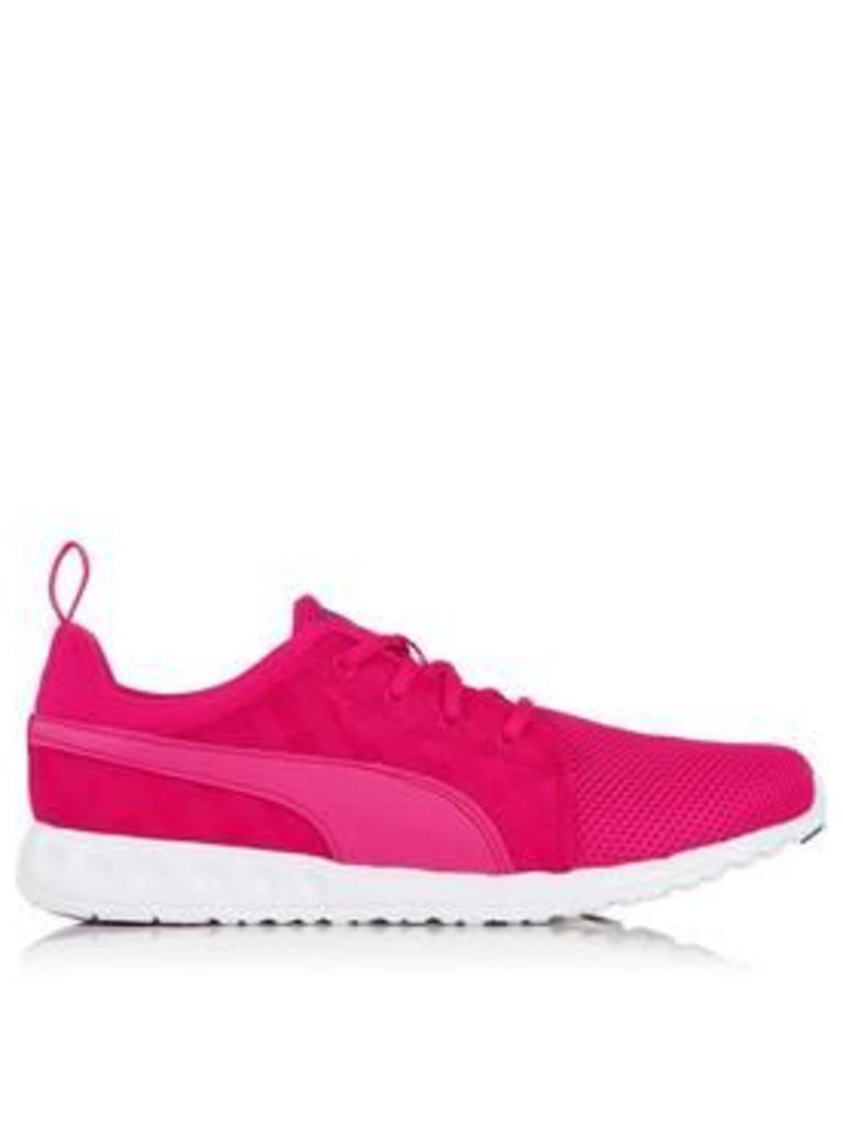 Puma Carson Cross Hatch Trainers - Pink