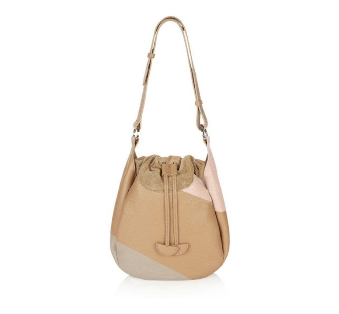 Alba Medium Shoulder Bag Colour-Block