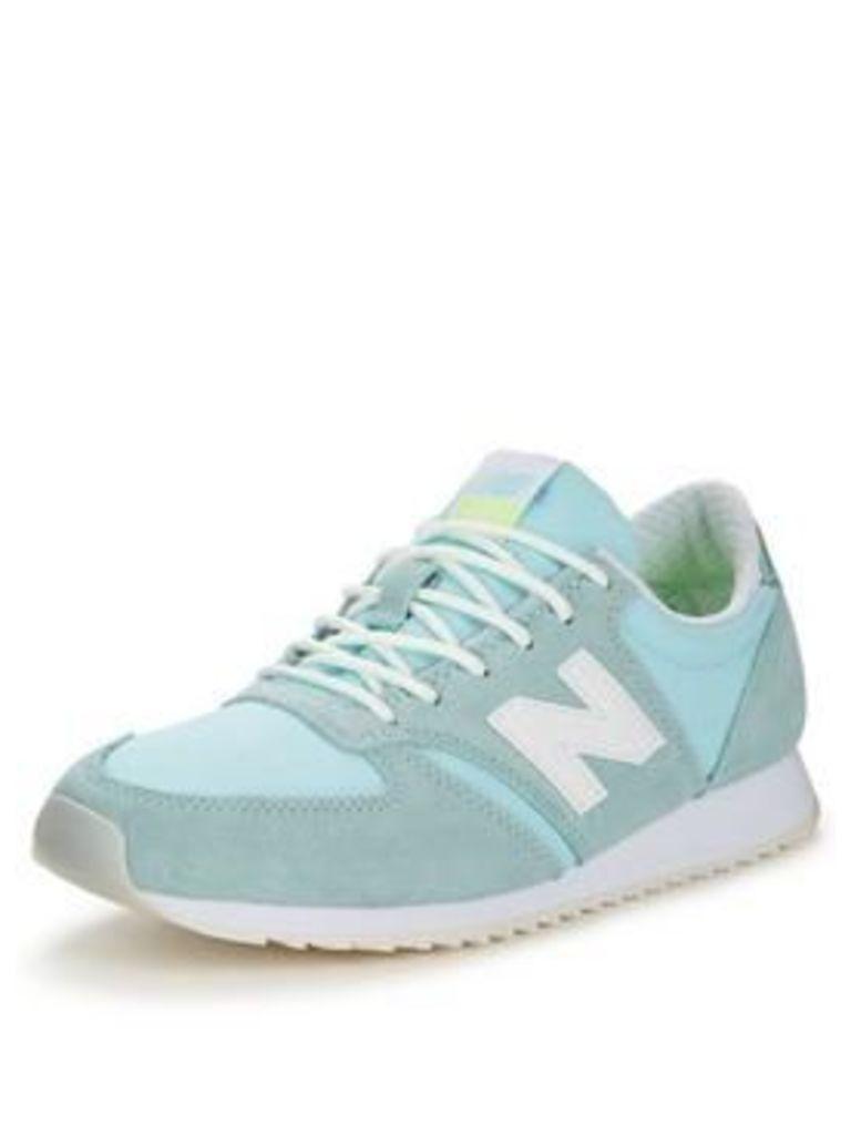 New Balance 420 Trainers - Light Blue , Light Blue, Size 3, Women