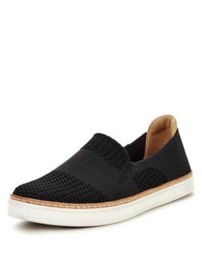 UGG Sammy slip on skate shoe, Black, Size 4, Women