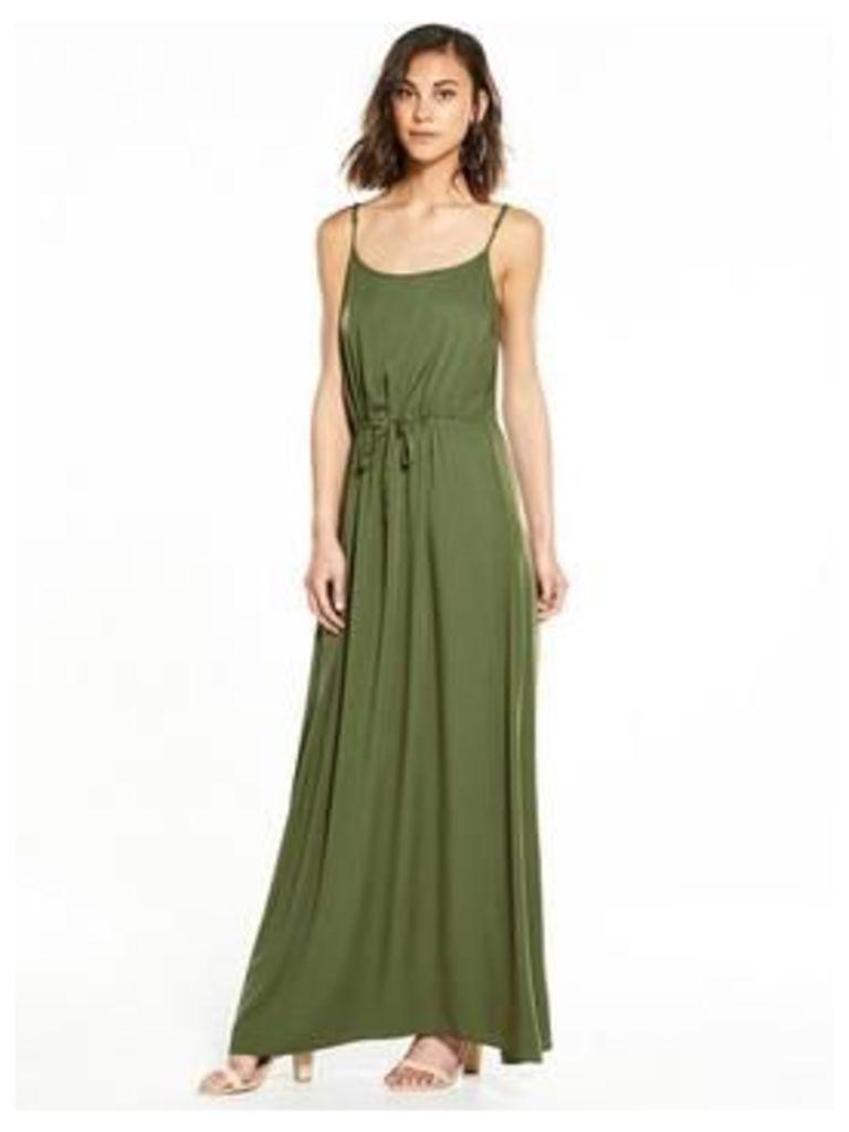 Vero Moda Maker Maxi, Ivy Green, Size 14=L, Women