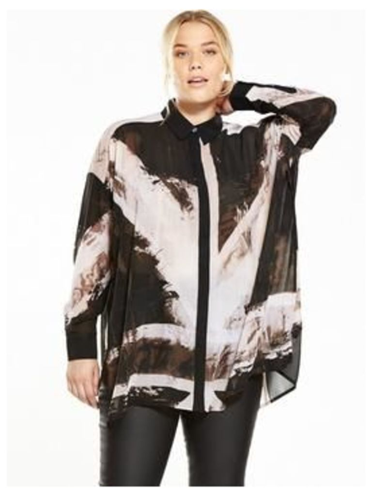 RELIGION CURVE Amore Shirt, Print, Size 20, Women