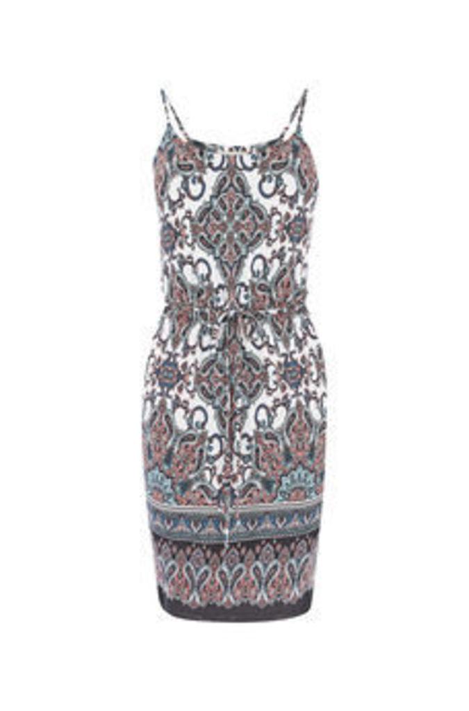 ESSIE PAISLEY CAMI DRESS