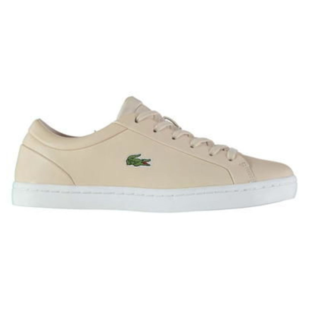 Lacoste Straight set Lace Trainers