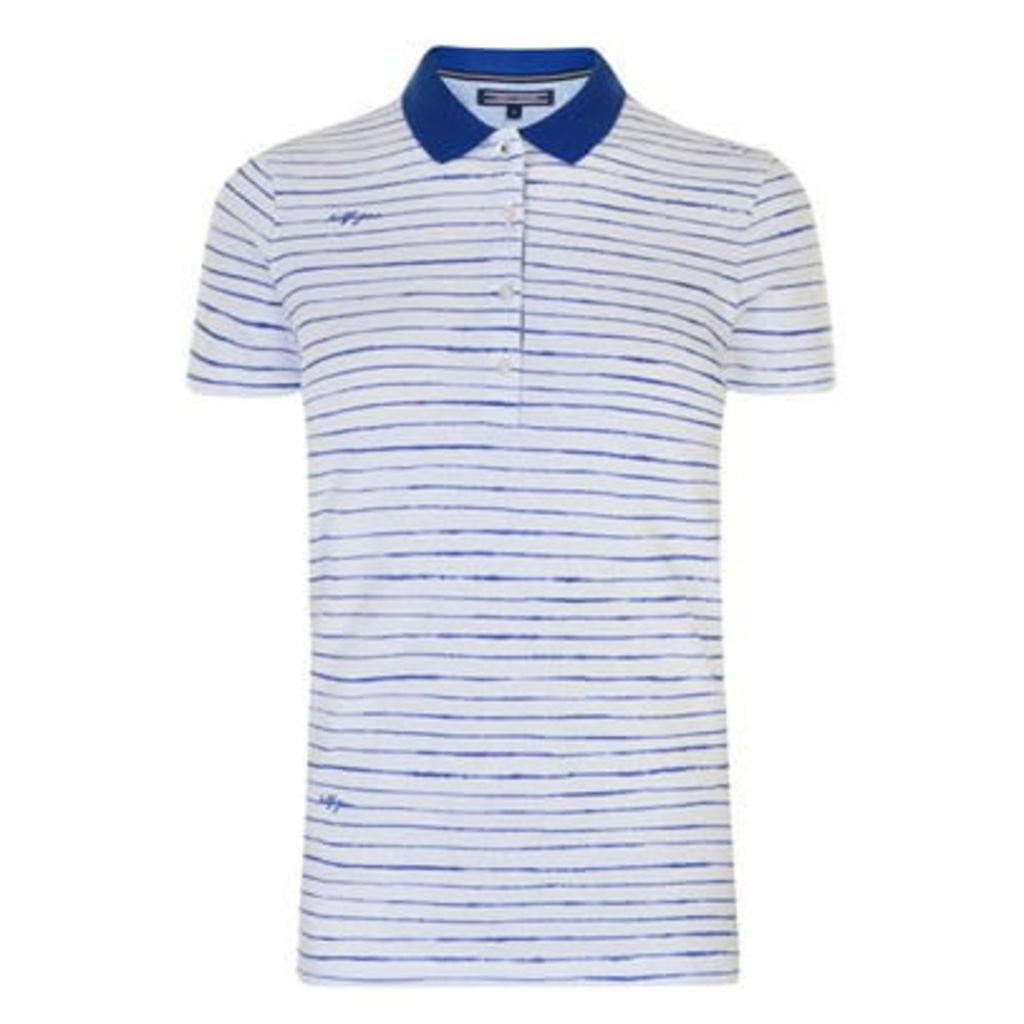 TOMMY HILFIGER Sienna Striped Polo Shirt