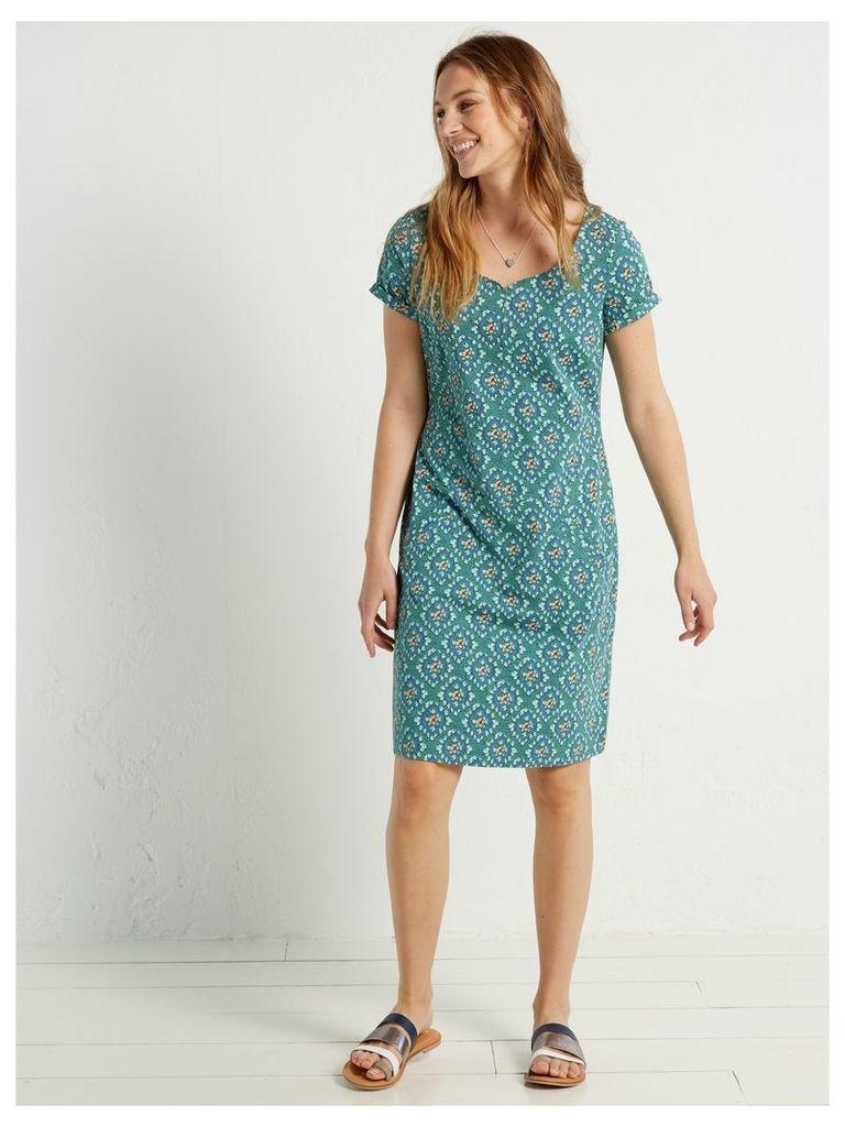 PERFECT TILE JERSEY DRESS