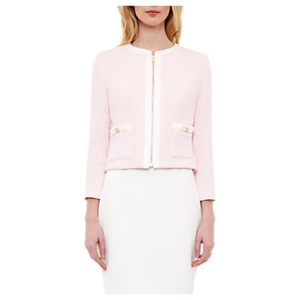 Ted Baker Eniela Contrast Bow Detail Jacket