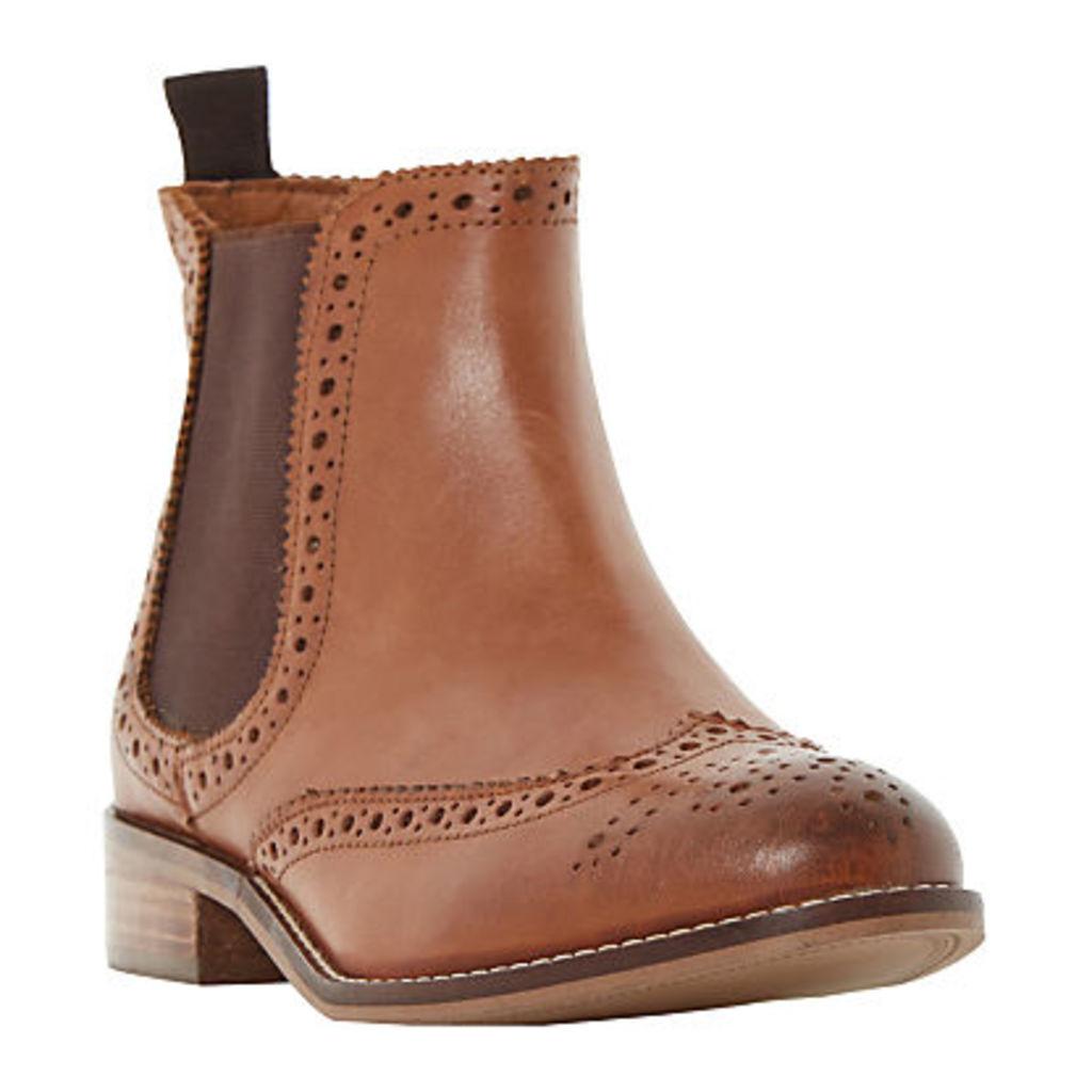 Dune Quenton Brogue Chelsea Boots