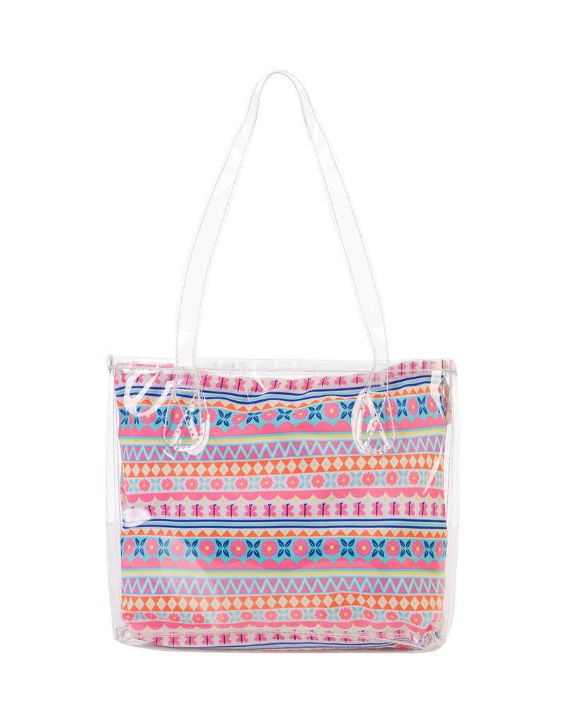 Mexicana Aztec Print Swim Bag