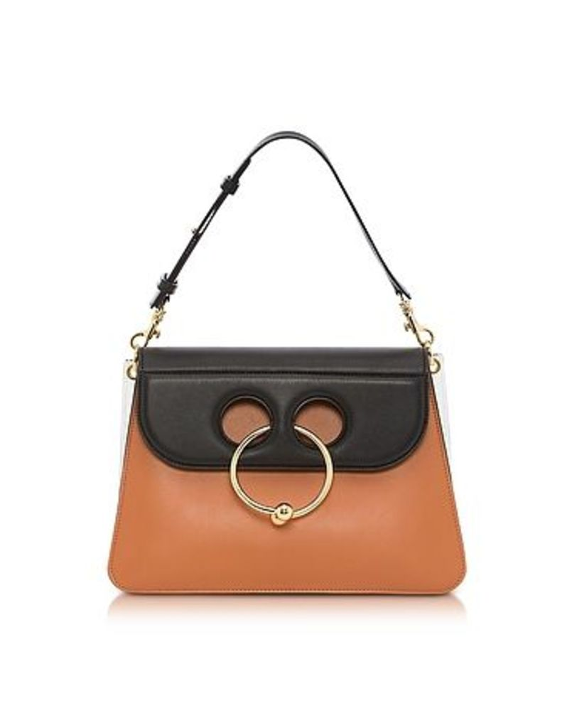 J.W. Anderson - Color Block Leather Medium Pierce Bag