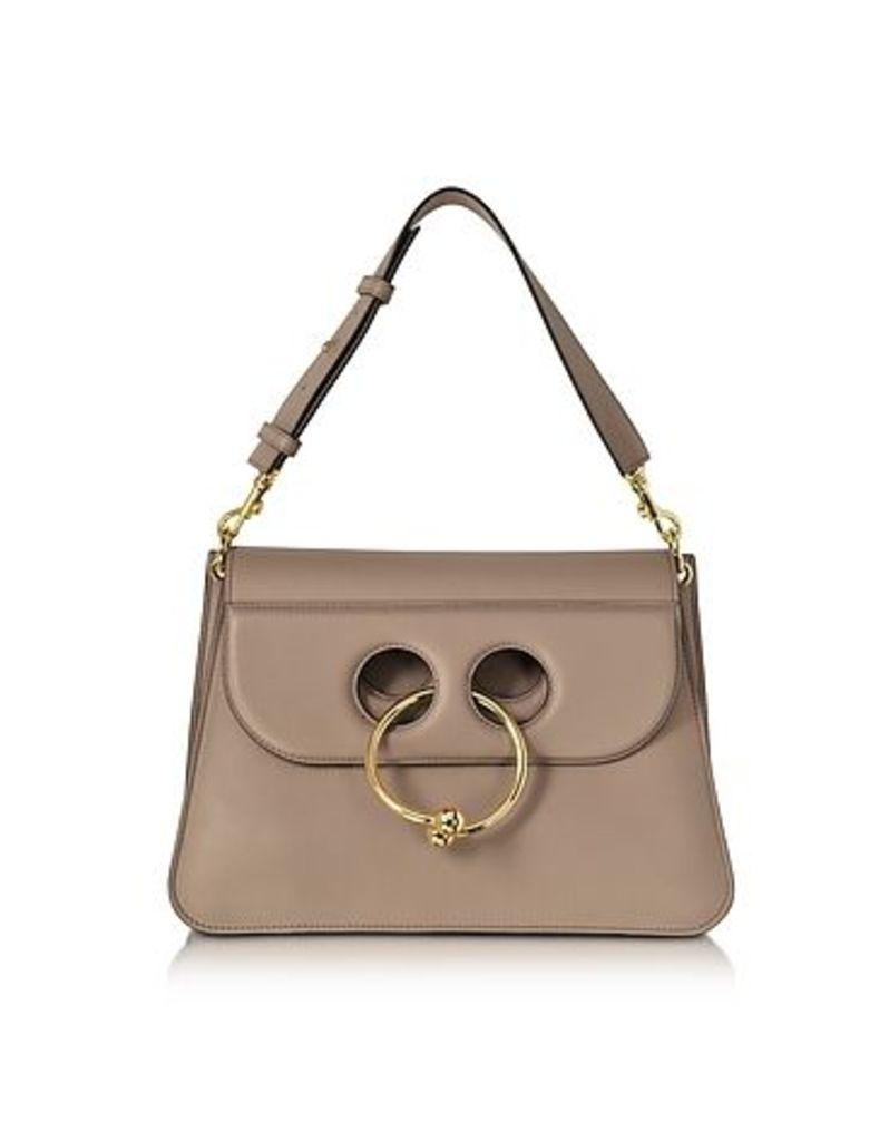 J.W. Anderson - Ash Leather Medium Pierce Bag