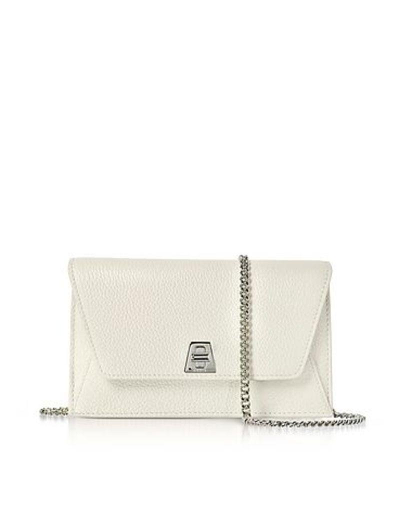 Akris - Ecru Cervocalf Anouk Mini Envelope Bag