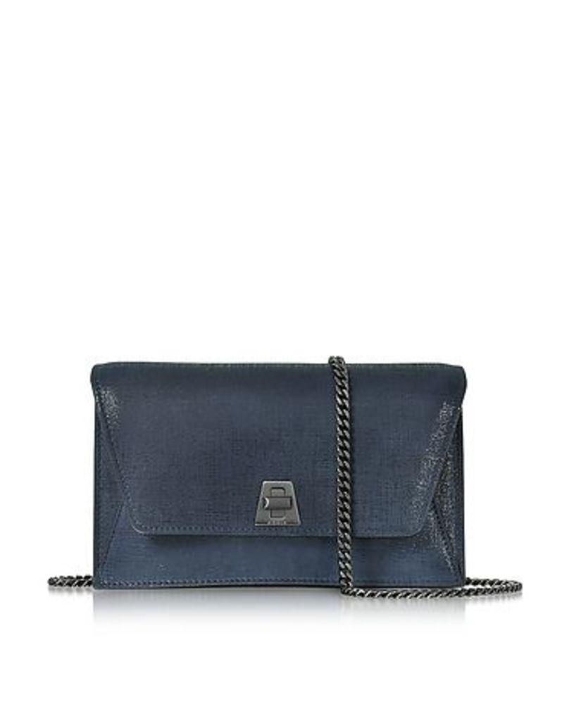 Akris - Denim Blue Anouk Mini Envelope Bag
