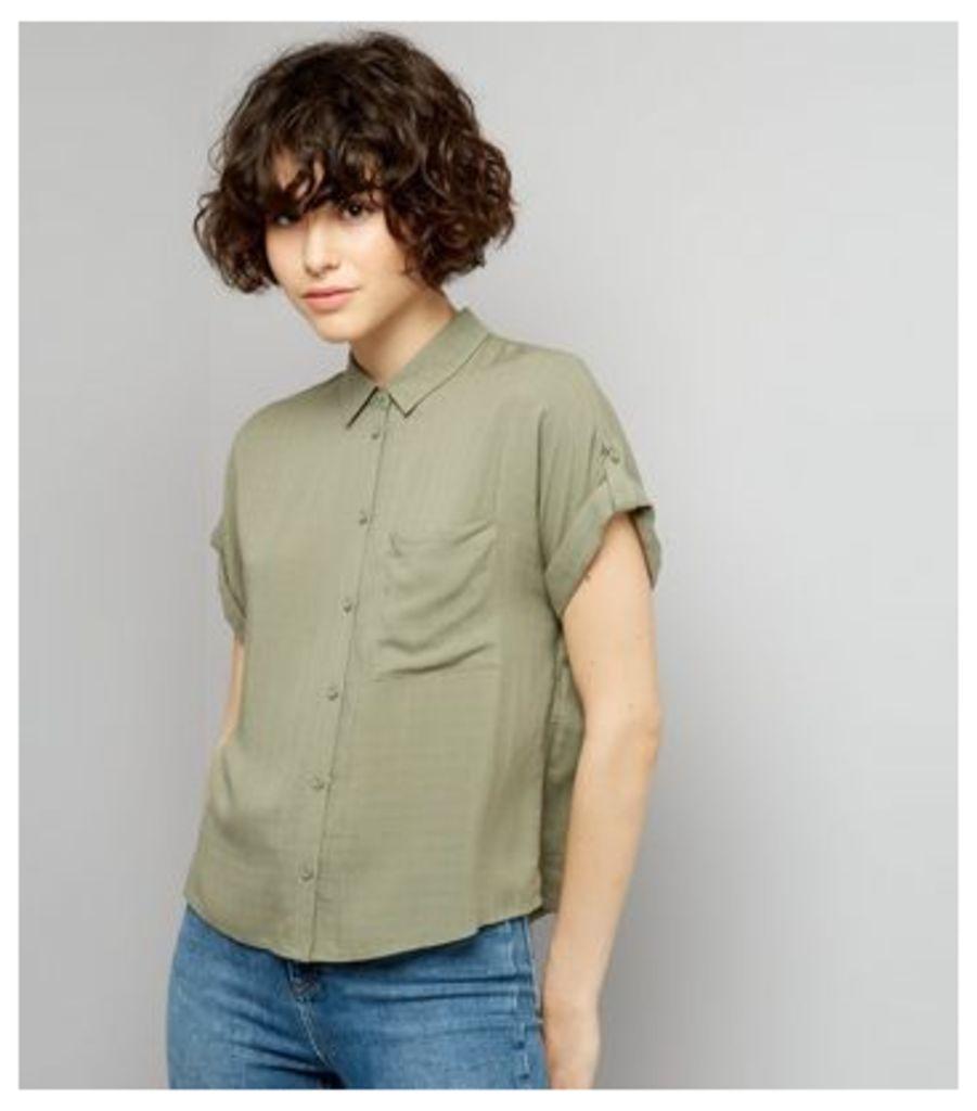 Khaki Short Sleeve Shirt