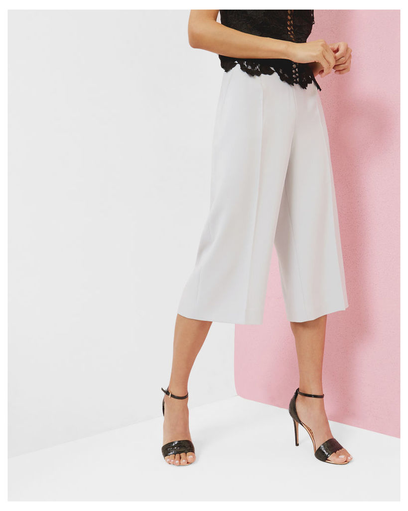 Ted Baker High waisted culottes Light Grey