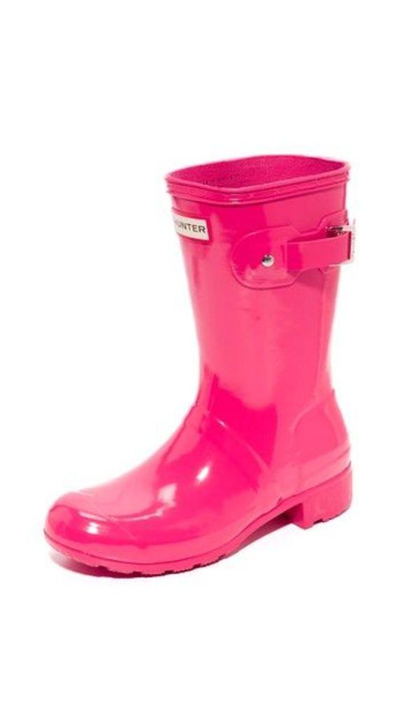 Hunter Boots Original Tour Short Gloss Boots