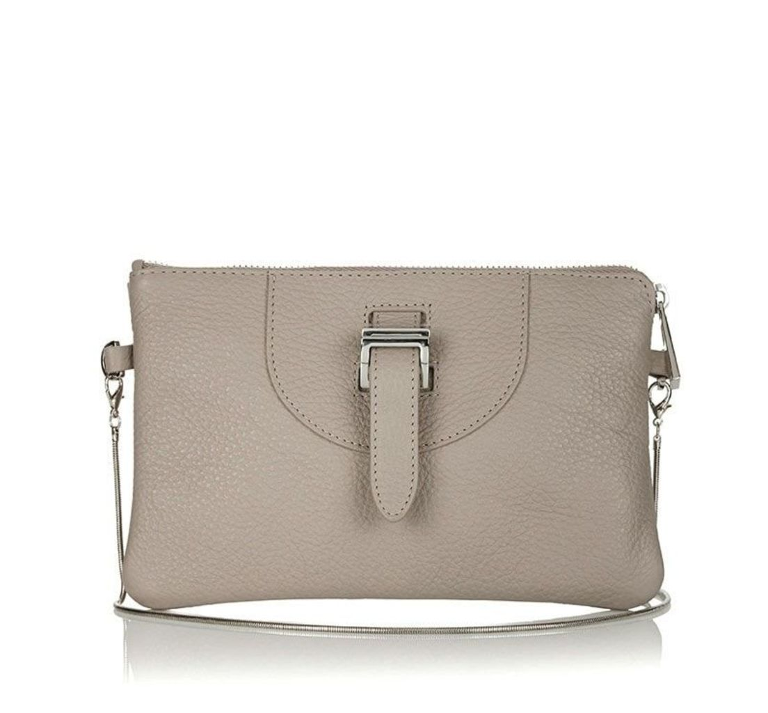 Thela Clutch Taupe