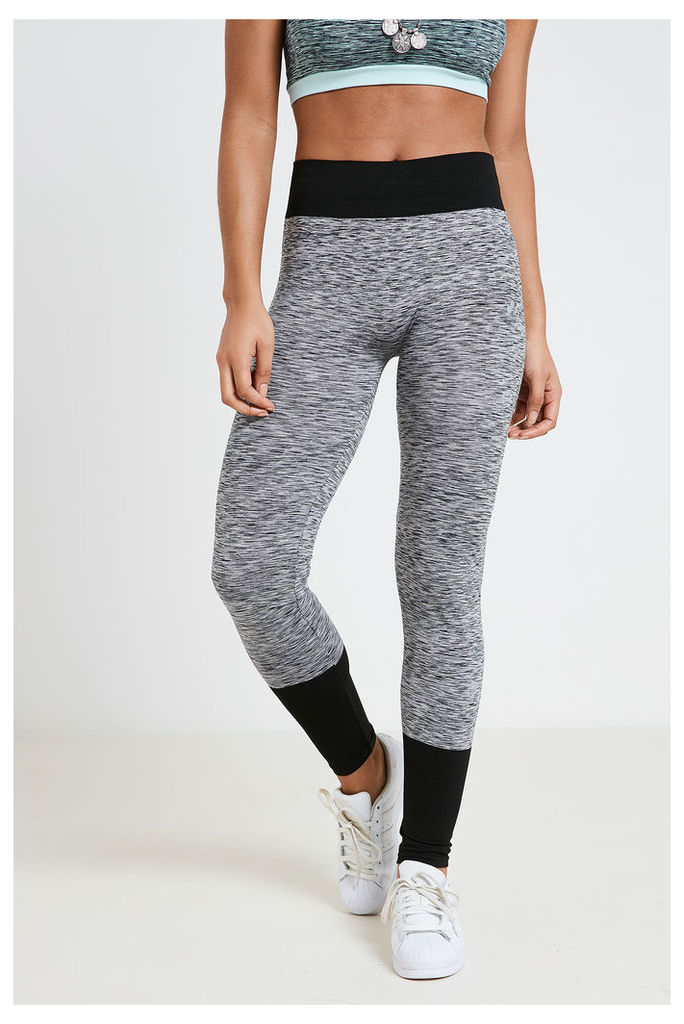Only Play Seamless Training Tights  - Grey