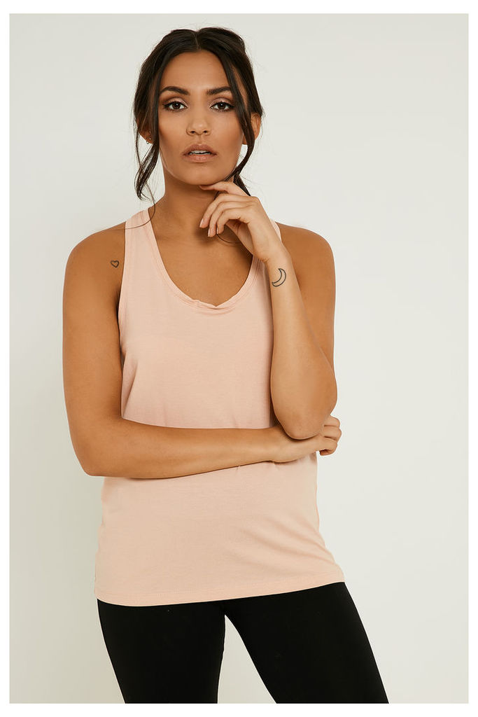 Vila Honesty Twist Vest Top - Pink
