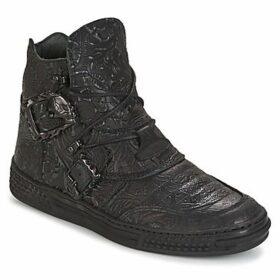 New Rock  GRAMO  women's Mid Boots in Black