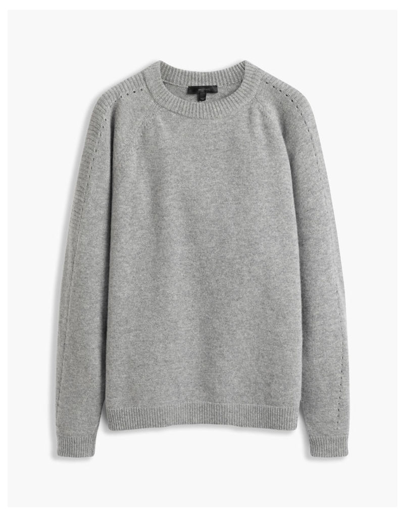 Belstaff Shilpa Crew Neck Jumper Grey
