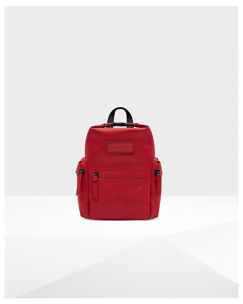 Original Mini Top Clip Backpack - Rubberised Leather