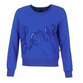 Love Moschino  W632201E1774  women's Sweatshirt in Blue