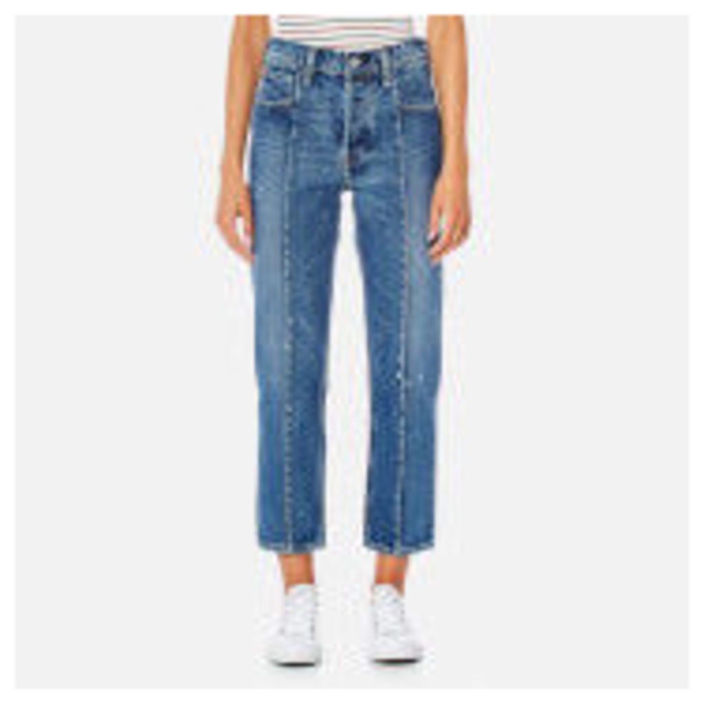 Levi's Women's Altered Straight Jeans - No Limits - W30 - Blue