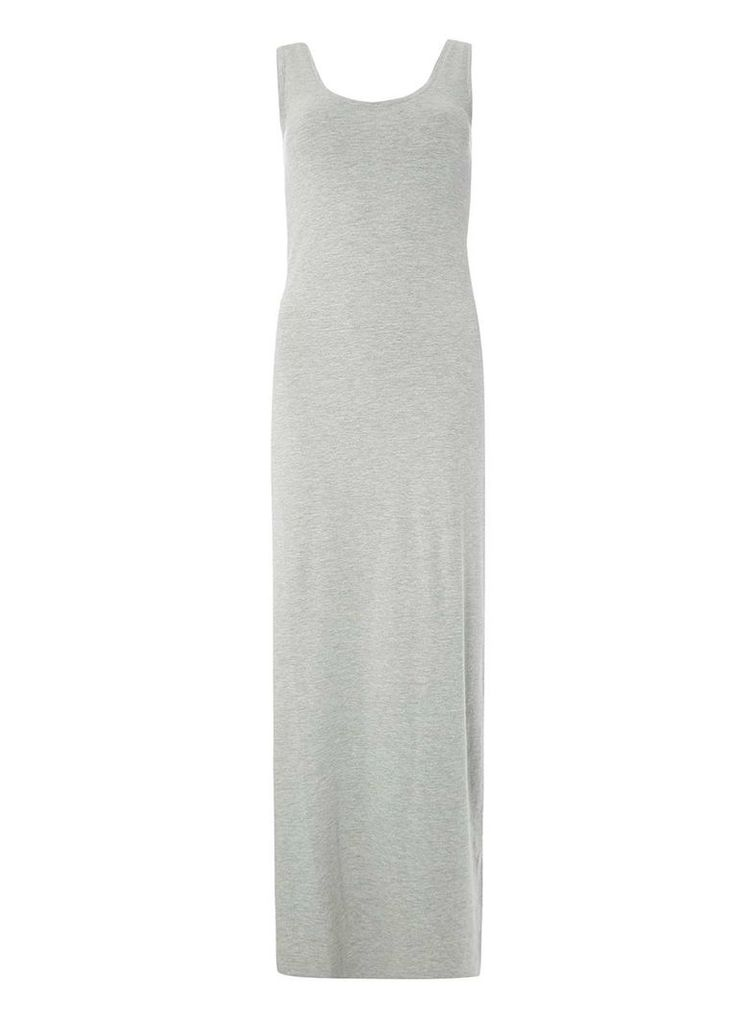 Womens **Vila Grey Honesty Maxi Dress- Grey