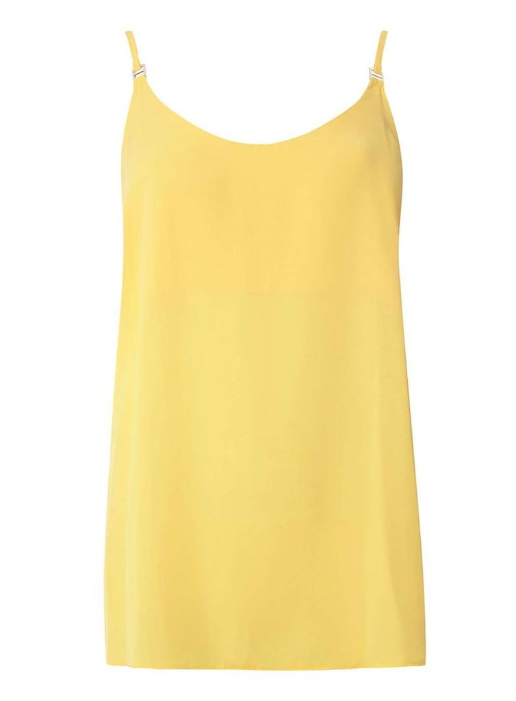 Womens **Tall Yellow Camisole Top- Yellow
