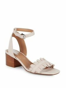 Monroe Suede Ankle-Strap Sandals