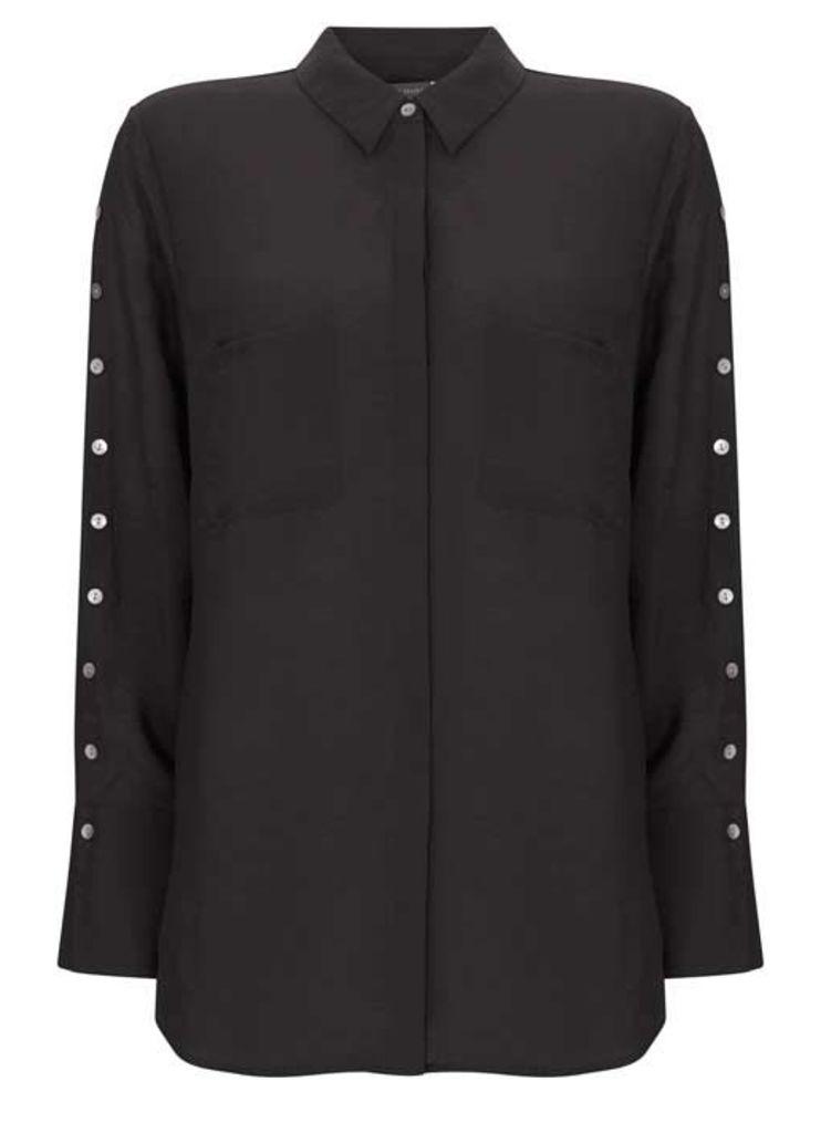 Black Button Shirt