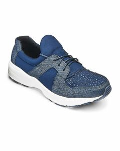 Heavenly Soles Leisure Shoes EEE Fit