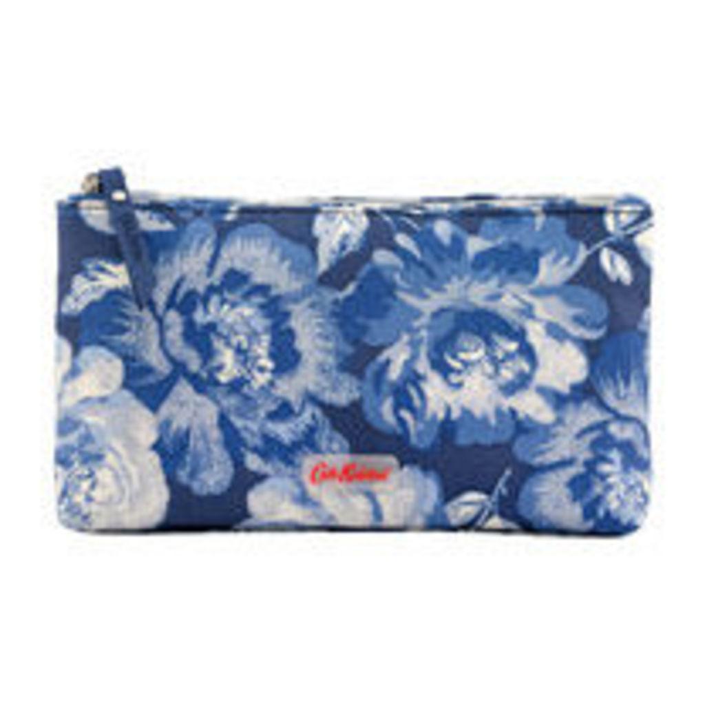 Peony Blossom Matt Zip Makeup Bag